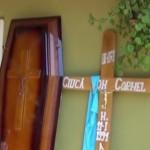 Gălbinași: Tânăr tratat cu algocalmin și mort de cancer, în pușcărie