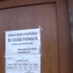 Mânăstirea: Doctorul Petrencic a fost bătut, tâlhărit și legat de calorifer