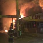 Călărași: Incendiu violent pe strada Dunărea / Video
