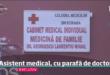 Valea Argovei: Asistentul medical o face pe doctorul